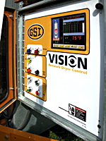 Vision Dryer Controls